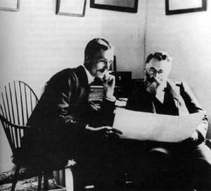 Frederic Ward Putnam and George B Gordon
